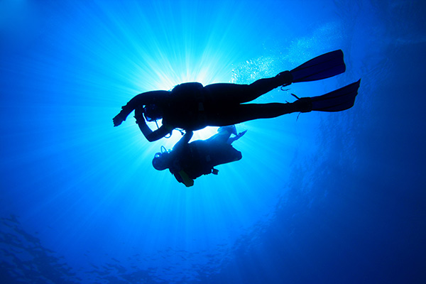 Diving in Zakynthos island