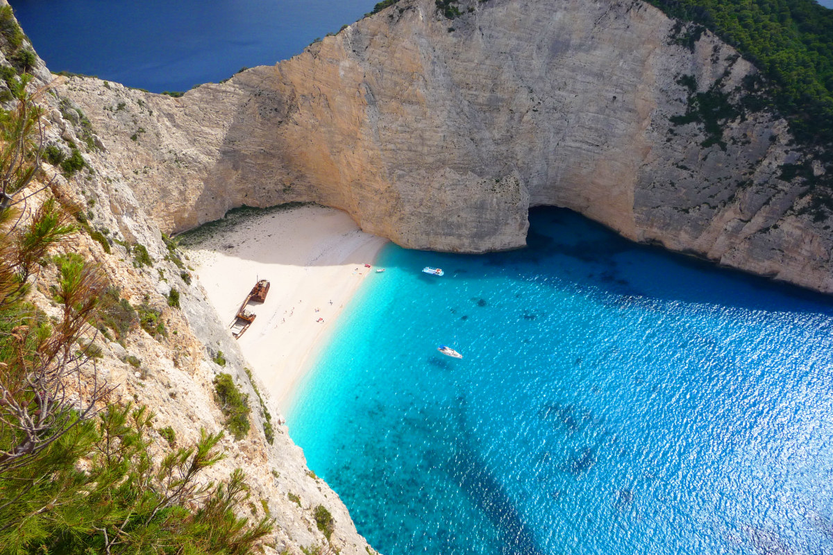 Shipwreck Beach (Navagio beach or Smuggler's Cove), Zakynthos